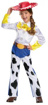 Girl's Jessie Classic Costume - Toy Story 4 - Child M (7 - 8)