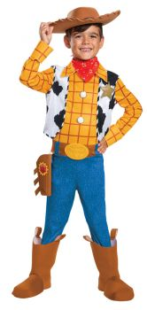 Boy's Woody Deluxe Costume - Toy Story 4 - Toddler (3 - 4T)