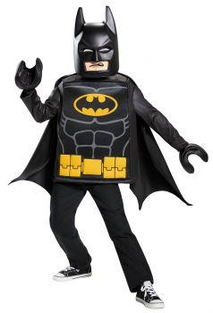 Boy's Batman Lego Classic Costume - LEGO Batman Movie - Child S (4 - 6)