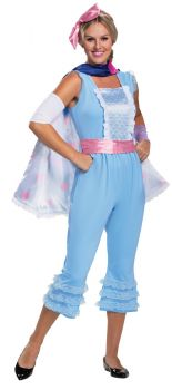 "Women's Bo Peep ""New Look"" Deluxe Costume - Toy Story 4 - Adult M (8 - 10)"