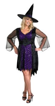 Women's Brilliantly Bewitched Costume - Adult Plus (18 - 20)