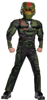 Boy's Jerome Classic Muscle Costume - Halo Wars 2 - Child L (10 - 12)