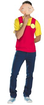 Men's Stewie Alternative Costume - Family Guy - Adult 2X (50 - 52)