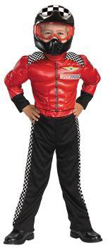 Boy's Turbo Racer Costume - Child S (4 - 6)