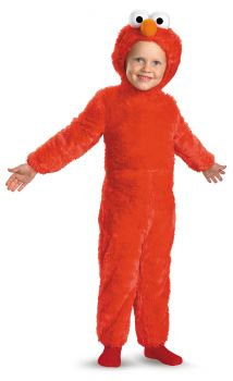 Elmo Comfy Fur Costume - Sesame Street - Toddler (2T)