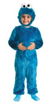 Boy's Cookie Monster Comfy Fur Costume - Sesame Street - Toddler (3 - 4T)