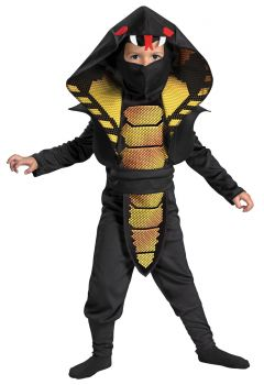 Cobra Ninja Costume - Child S (4 - 6)