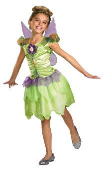 Girl's Tinker Bell Rainbow Classic Costume - Child S (4 - 6X)
