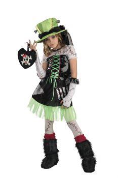 Girl's Monster Bride Deluxe Costume - Child L (10 - 12)