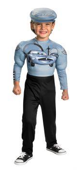 Boy's Finn McMissle Costume - Cars 2 - Child M (7 - 8)