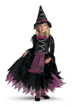 Girl's Fairy Tale Witch Deluxe Costume - Child S (4 - 6X)