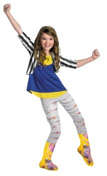 Girl's Shake It Up Cece Deluxe Costume - Shake It Up - Child M (7 - 8)