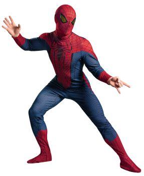 Men's Spider-Man Movie Deluxe Costume - Adult 2X (50 - 52)