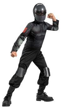 Boy's Snake Eyes Classic Costume - G.I. Joe Movie - Child L (10 - 12)