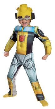 Boy's Bumblebee Rescue Bot Toddler Muscle Costume - Toddler (3 - 4T)