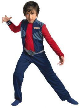 Boy's Ky Classic Costume - Redakai - Child M (7 - 8)