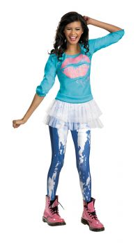 Girl's Rocky Season 2 Classic Costume - Shake It Up - Child M (7 - 8)