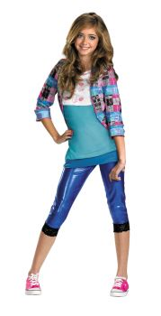 Girl's Cece Classic Costume - Shake It Up - Child M (7 - 8)