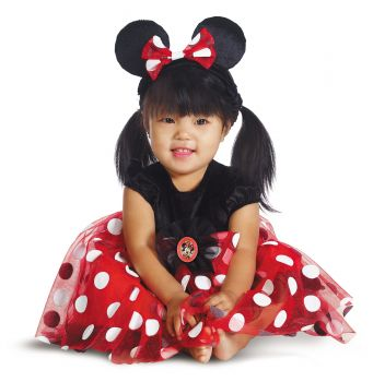 Red Minnie Deluxe Costume - Infant (6 - 12M)
