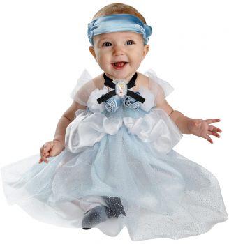 Cinderella Deluxe Costume - Toddler (12 - 18M)