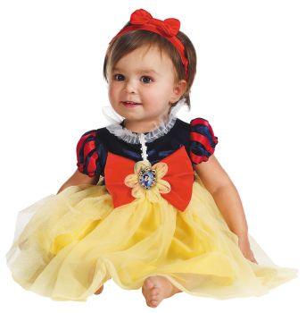 Snow White Deluxe Costume - Toddler (12 - 18M)