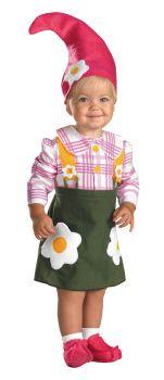 Flower Garden Gnome Costume - Toddler (2T)