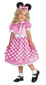 Girl's Clubhouse Pink Minnie Mouse Costume - Child S (4 - 6X)