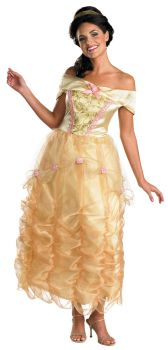 Women's Belle Deluxe Costume - Beauty & The Beast - Adult L (12 - 14)
