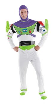 Men's Buzz Lightyear Deluxe Costume - Toy Story - Adult 2X (50 - 52)