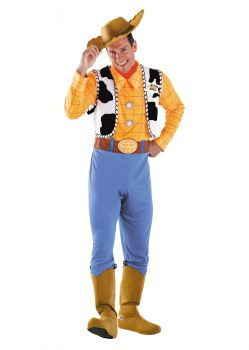 Men's Woody Deluxe Costume - Toy Story - Adult XL (42 - 46)