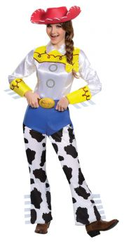 Women's Jessie Deluxe Costume - Toy Story - Adult M (8 - 10)
