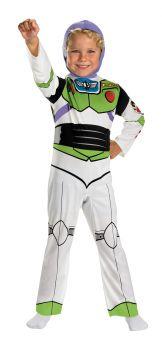 Boy's Buzz Lightyear Classic Costume - Toy Story - Child S (4 - 6)