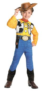 Boy's Woody Classic Costume - Toy Story - Child SM (4 - 6)