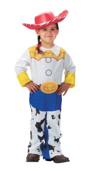 Girl's Jessie Classic Costume - Toy Story - Child S (4 - 6X)