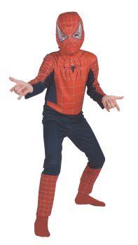 Boy's Spider-Man Movie Costume - Child Husky (7 - 10)