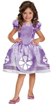 Girl's Sofia Classic Costume - Toddler (2T)