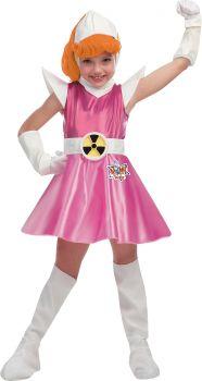 Girl's Atomic Betty Deluxe Costume - Atomic Betty - Child M (7 - 8)