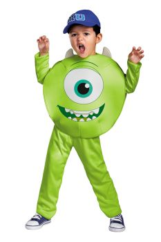 Boy's Mike Classic Costume - Monsters University - Toddler (3 - 4T)