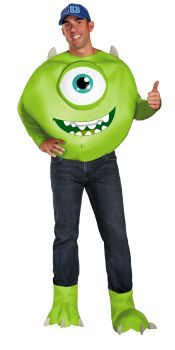 Men's Mike Deluxe Costume - Monsters University - Adult 2X (50 - 52)