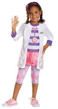 Girl's Doc Classic Costume - Doc McStuffins - Toddler (3 - 4T)