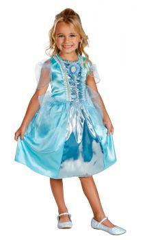 Girl's Cinderella Sparkle Classic Costume - Toddler (3 - 4T)