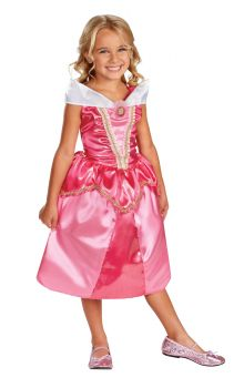Girl's Aurora Sparkle Classic Costume - Sleeping Beauty - Toddler (3 - 4T)