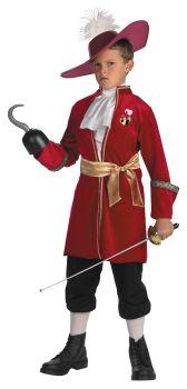 Boy's Captain Hook Classic Costume - Peter Pan - Child M (7 - 8)