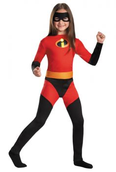 Girl's Violet Classic Costume