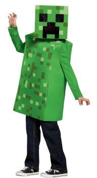 Boy's Creeper Classic Costume - Minecraft - Child S (4 - 6)