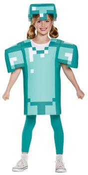Boy's Armor Classic Costume - Minecraft - Child S (4 - 6)