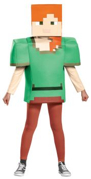 Boy's Alex Classic Costume - Minecraft - Child S (4 - 6X)