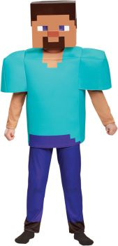 Boy's Steve Deluxe Costume - Minecraft - Child L (10 - 12)