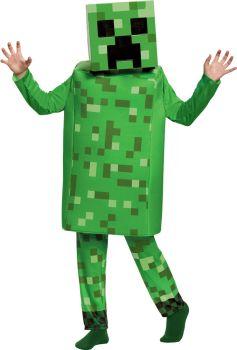 Minecraft Creeper Deluxe Child Costume
