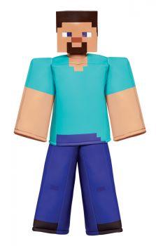 Boy's Steve Prestige Costume - Minecraft - Child L (10 - 12)